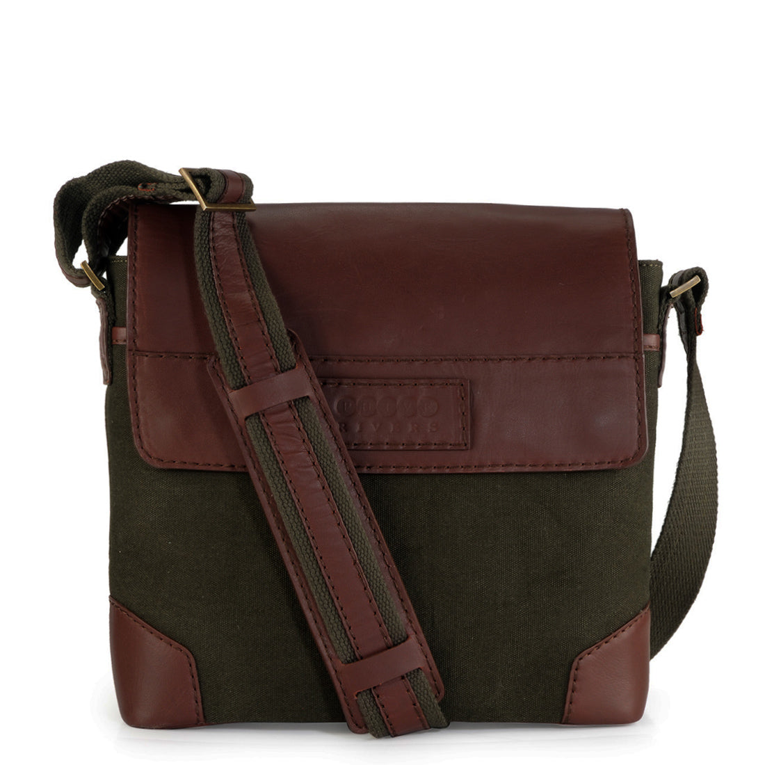 Leather Messenger Bag - PR1154
