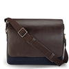 Leather Messenger Bag - PR1109