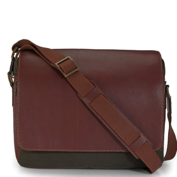 Leather Messenger Bag - PR1110