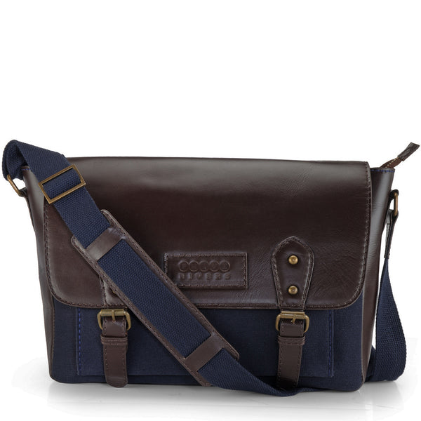 Leather Messenger Bag - PR1112
