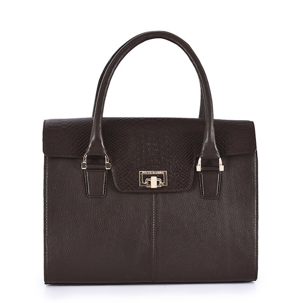 Leather Laptop Bag - PR872