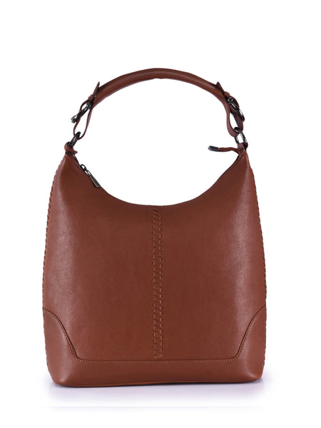 Leather Hobo Bag - PR866