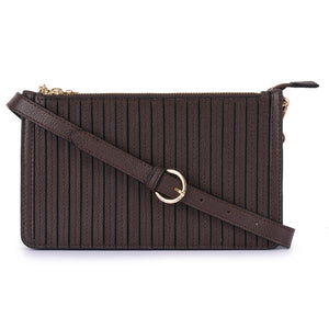 Leather Crossbody Bag - PR706N