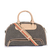 Leather Duffle Bag -PRM637