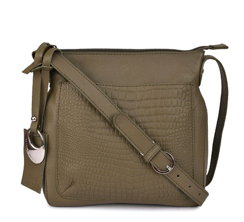 Leather Crossbody Bag - PR540