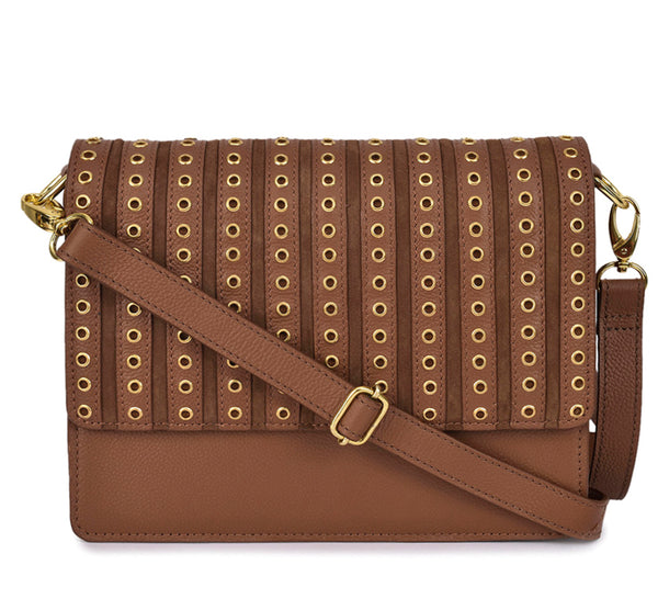 Leather Crossbody Bag - PR539