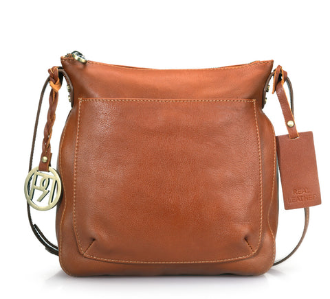 Leather Crossbody Bag - PR974