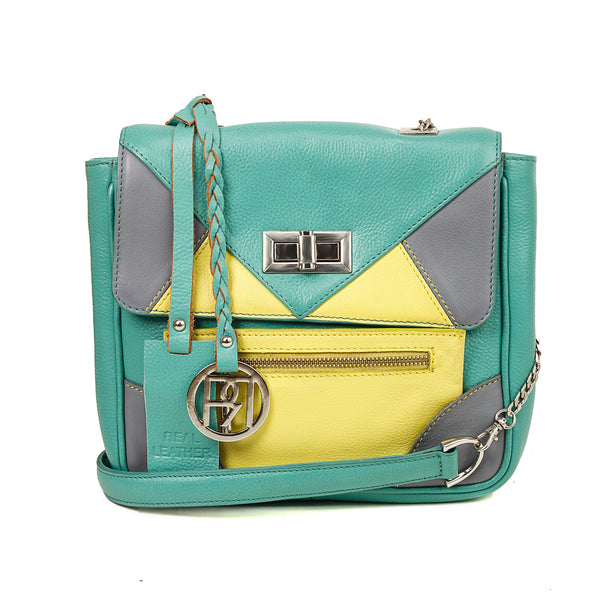 Leather Crossbody Bag - PR1019