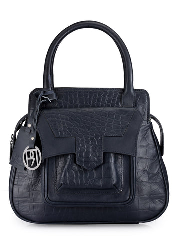 Leather Satchel Bag - PR1044