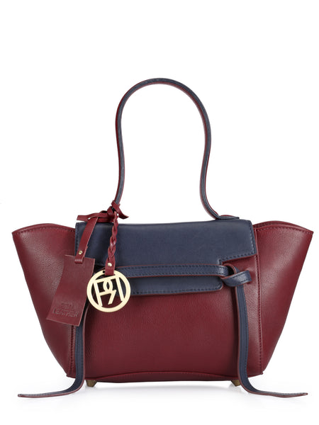 Leather Satchel Bag - PR1052
