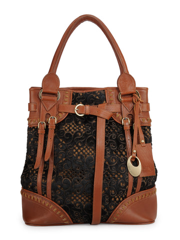Leather Tote Bag - PR1055