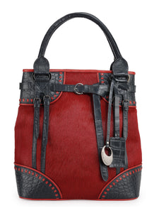 Leather Tote Bag - PR1056