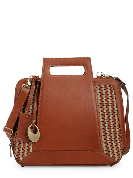 Leather Hand Bag - PR1057