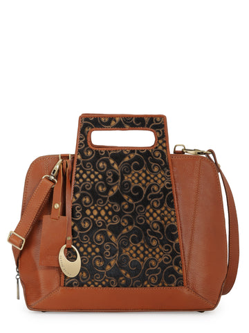 Leather Hand Bag - PR1059