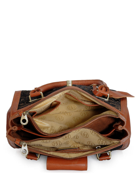 Leather Satchel Bag - PR1062