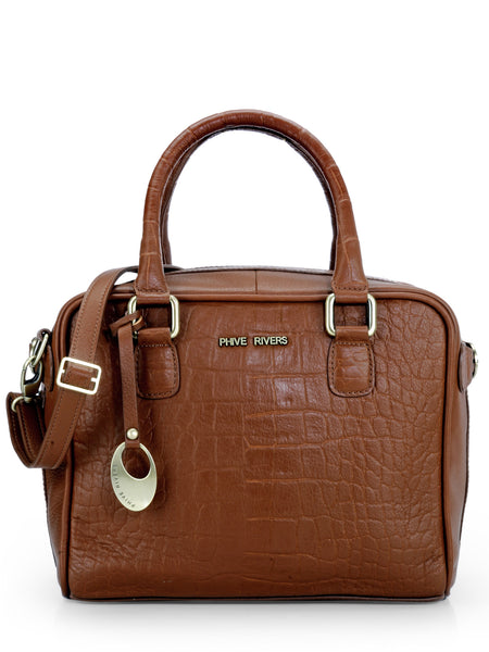 Leather Hand Bag - PR1079