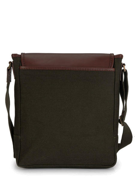 Leather Messenger Bag - PR1107