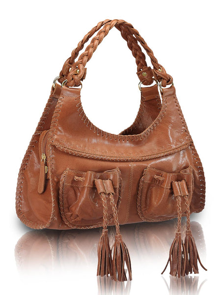 Leather Hobo Bag - PR537