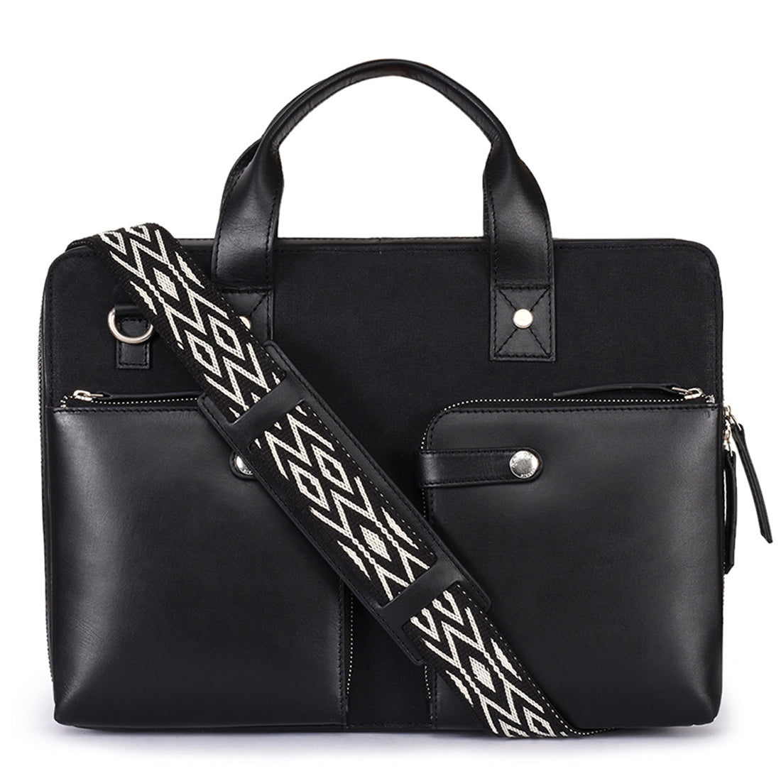 Leather Laptop Bag -PRM629