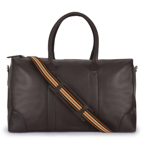 Leather Duffle Bag -PRM638