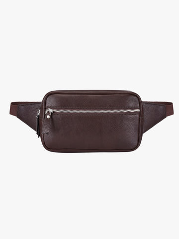 Leather Waist Bag - PRM954