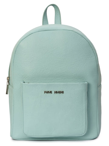 Leather Backpack - PRU1340