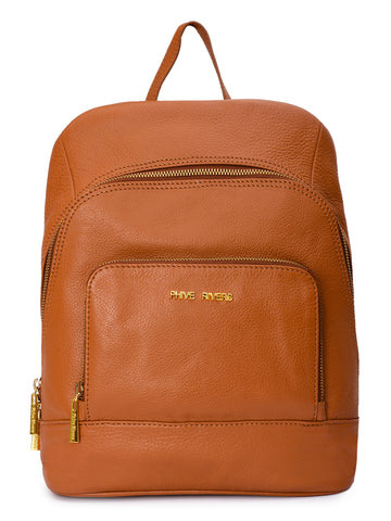 Leather Backpack - PRU1344