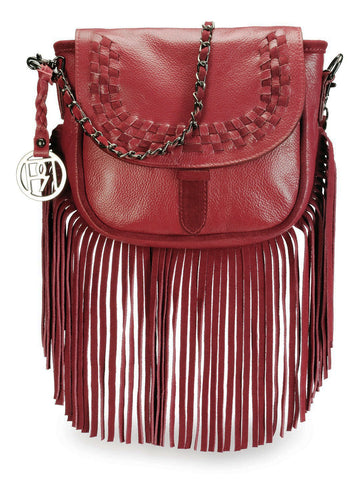 Leather Crossbody Bag - PR1073