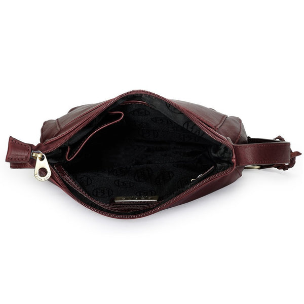 Leather Crossbody Bag - PR976