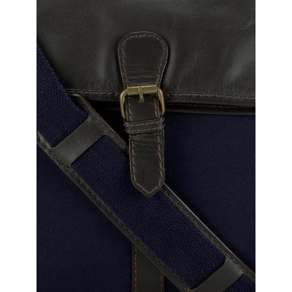 Leather Messenger Bag - PR1114