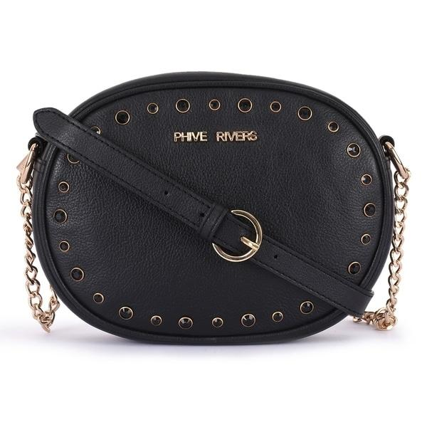Leather Crossbody Bag - PR701N