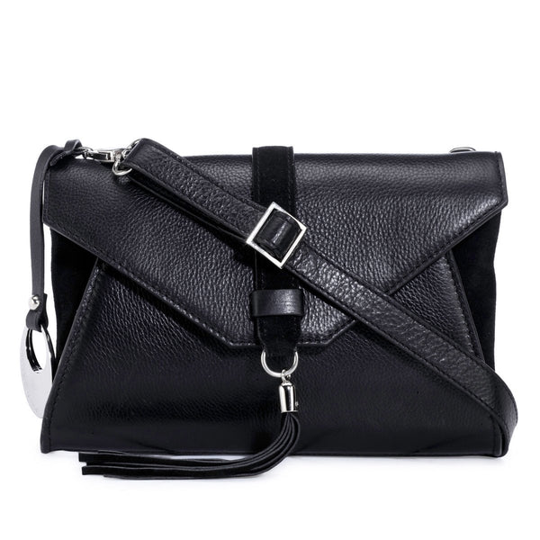 Leather Crossbody Bag - PR1278