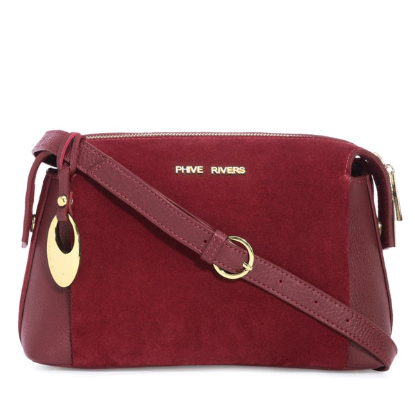 Leather Crossbody Bag - PR1291