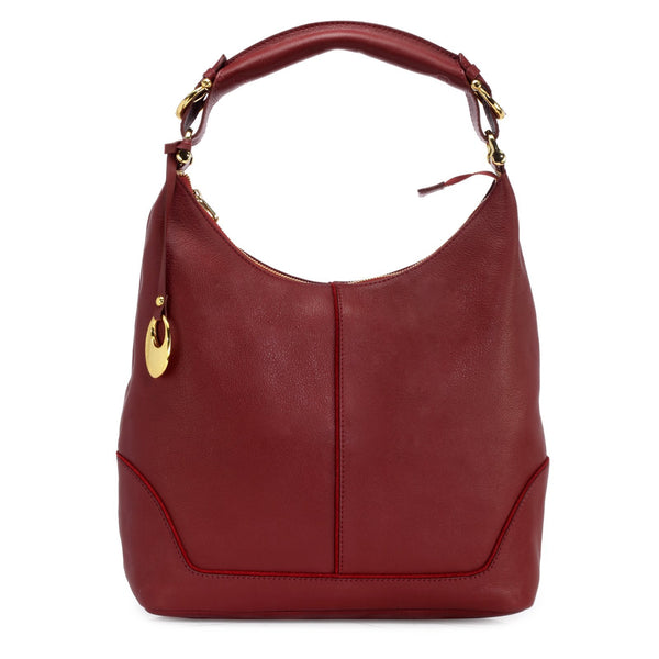 Leather Hobo Bag - PR1275