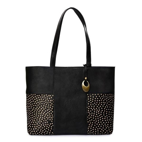 Women's Leather Tote Bag - PRU1347