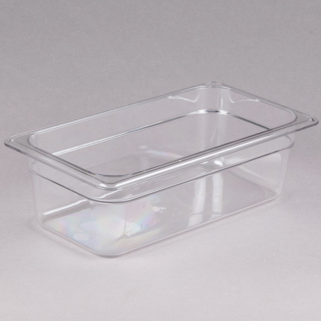 Cambro 34CW135 1/3 Size Food Pan 4in Deep