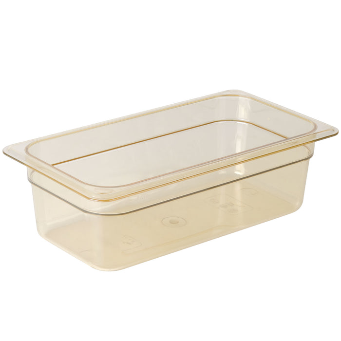 Cambro 34HP150 1/3 Size Food Pan 4in Deep - Amber