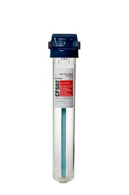 3M CFS02T BCI-Flexible System Water Filter (2) High Transparent Housing Built-In Valve-In Head