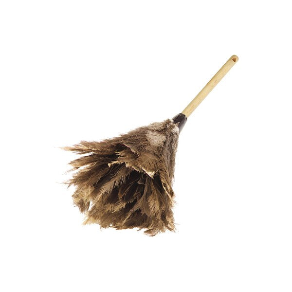 "Carlisle 4574300 24"" Long Feather Duster - Brown"