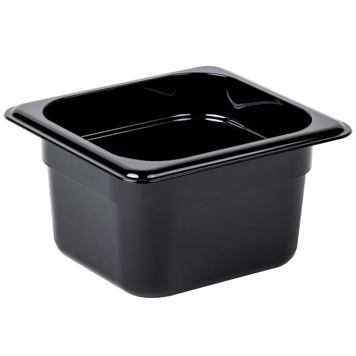 Cambro 64HP110 1/6 Size Food Pan 4in Deep - Black