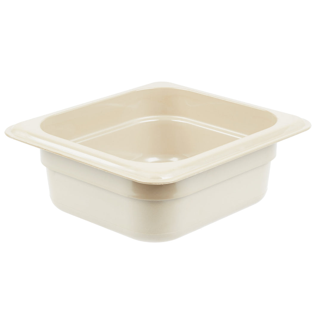 Cambro 66HP772 1/6 Size Food Pan 6in Deep - Sandstone