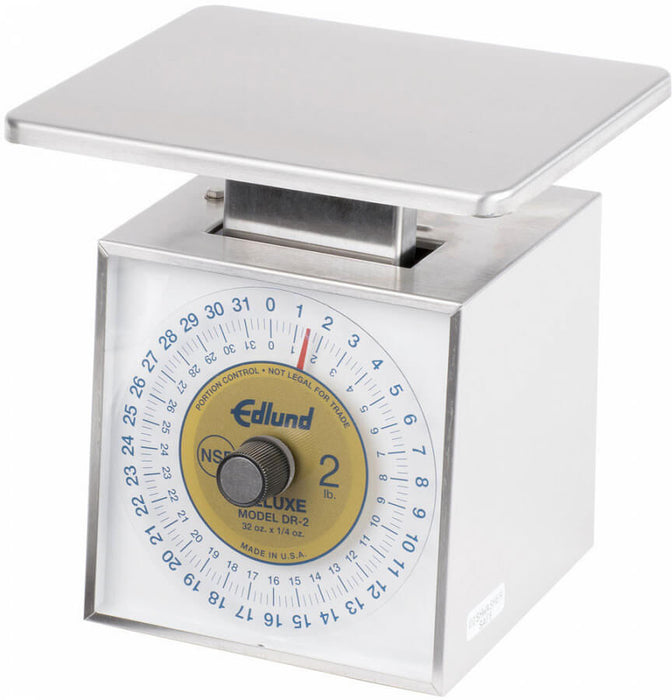 Edlund DR-2 32 Ounce Top Loading Deluxe Scale With Rotating Dial And Vertical Face