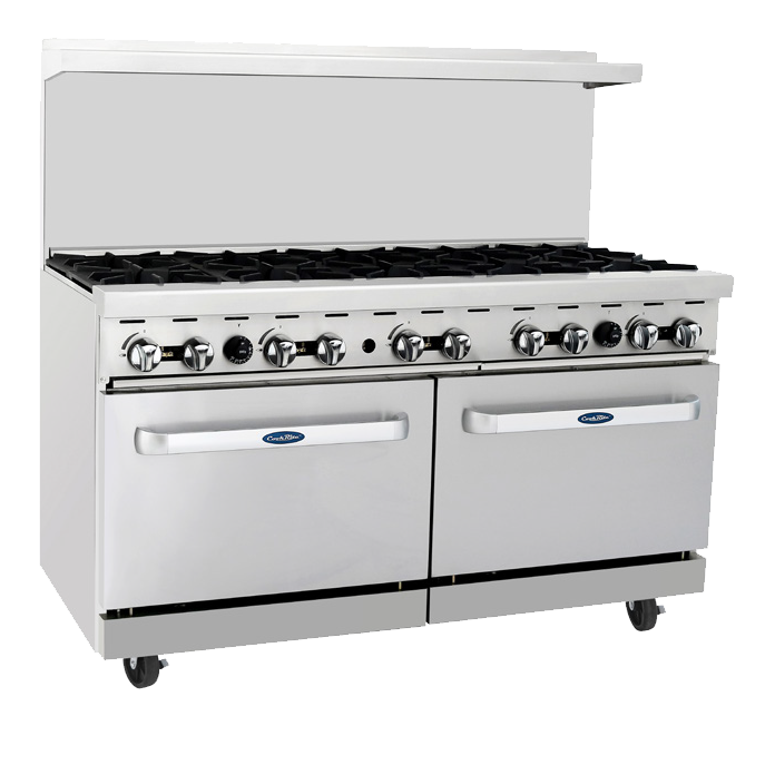 Atosa ATO-10B CookRite Range (10) 25,000 BTU Open Burners