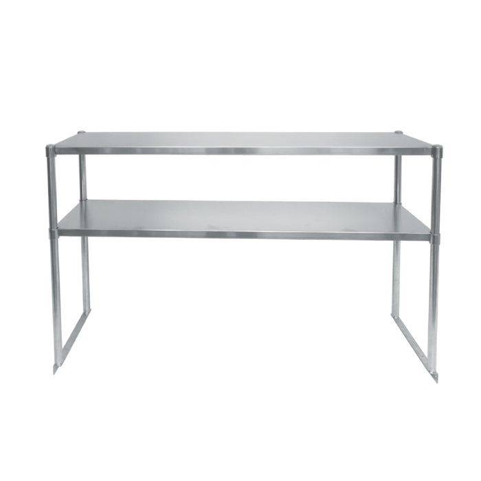 "Atosa MROS-6RE 75 5/8"" Double Overshelf - Stainless"