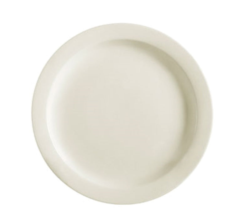 "CAC China NRC-5 5 1/2"" Round Bread Plate (Case of 36) - American White"