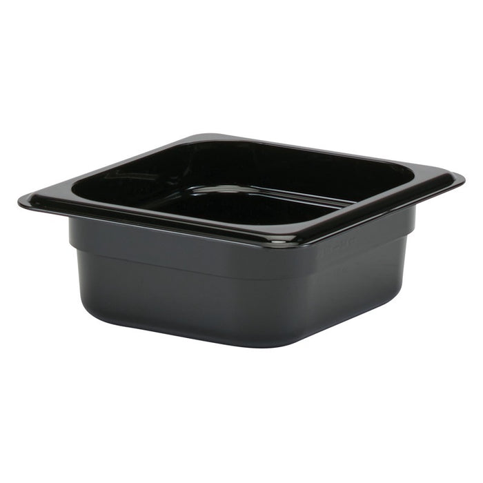Cambro 62CW110 1/6 Food Pan 2 1/2in Deep - Black