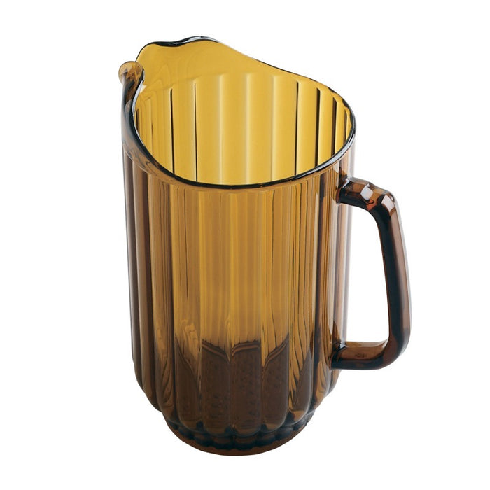Cambro P600CW153 60 Oz. Pitcher - Amber
