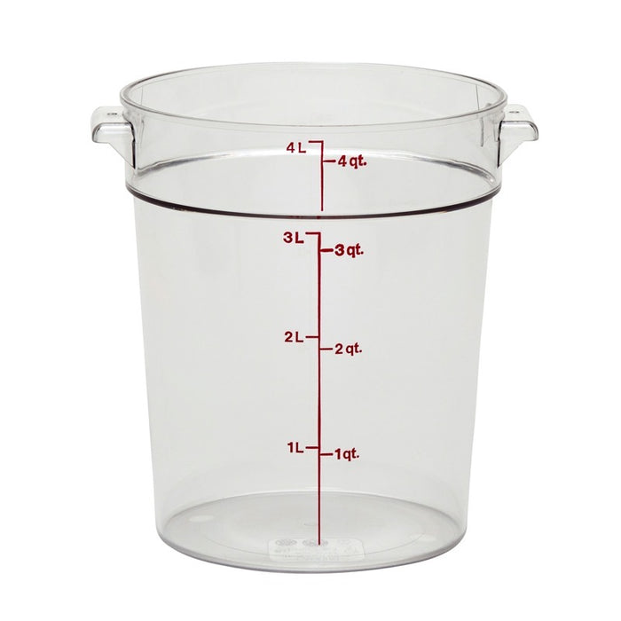 Cambro RFSCW4135 Round 4 Qt. Storage Container