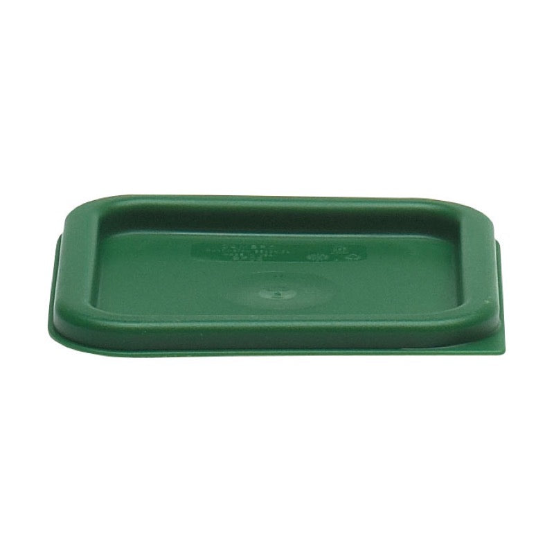 Cambro SFC2452 Square Cover For 2 & 4 Qt. Storage Containers - Green