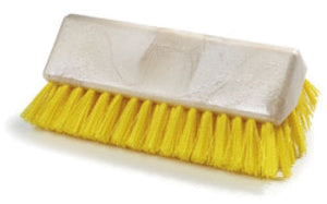 "Carlisle 4042304 Sparta Hi-Lo 10"" Floor Brush Head - Yellow"